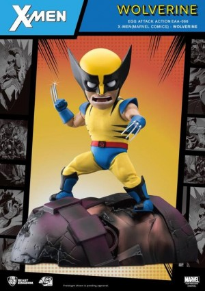Foto2 - X-Men Egg Attack Ação EAA-66SP Wolverine (Edição Especial) PX Previews Exclusive