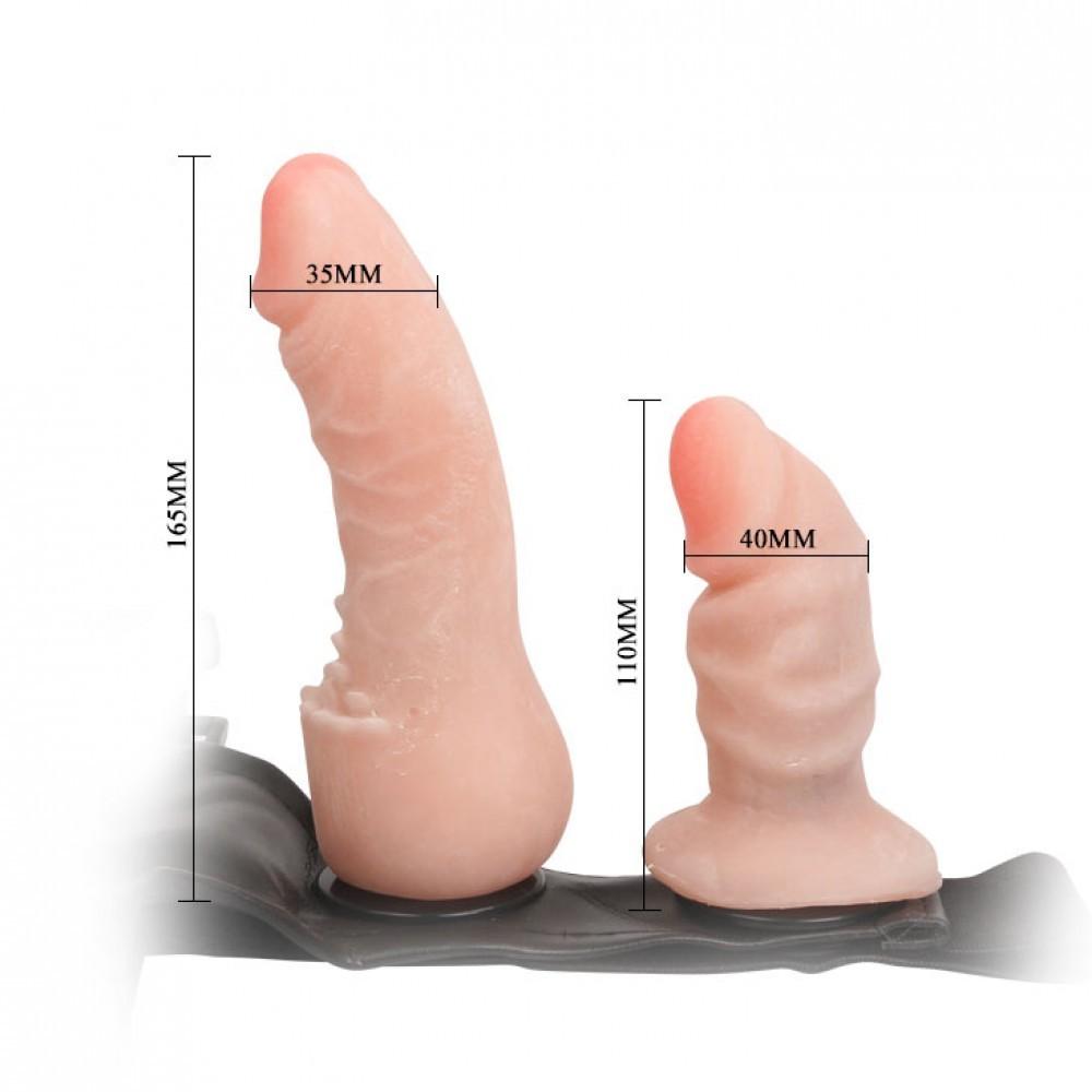 Foto2 - Cinta Peniana com Plug Vaginal - FEMALE HARNESS