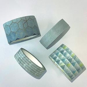 Foto1 - Kit Washi Tape - Geometric