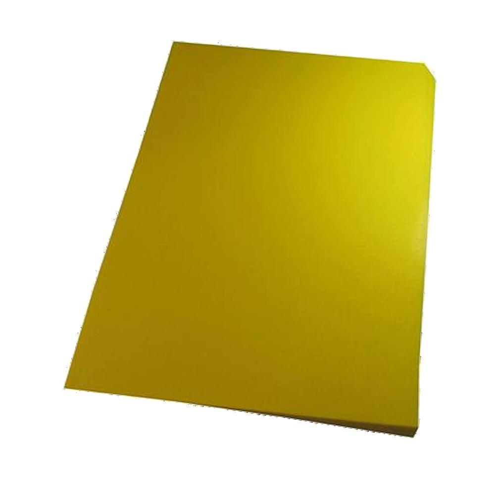 Foto 1 - Capa Para Encadernação Amarela A4 PP 0,30 100un