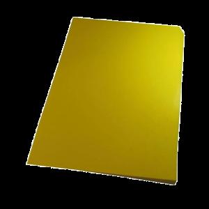 Foto1 - Capa Para Encadernação Amarela A4 PP 0,30 100un
