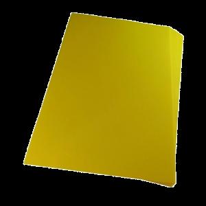Foto1 - Capa Para Encadernação Amarela Transparente Line A4 PP 0,30 100un
