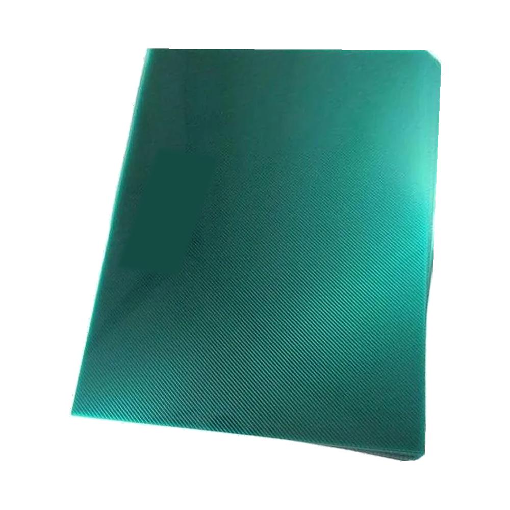 Foto 1 - Capa Para Encadernação Verde Transparente Line PP 0,30 100un