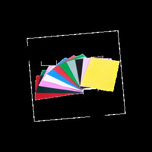 Foto2 - Capa Para Encadernação Verde Transparente Line PP 0,30 100un