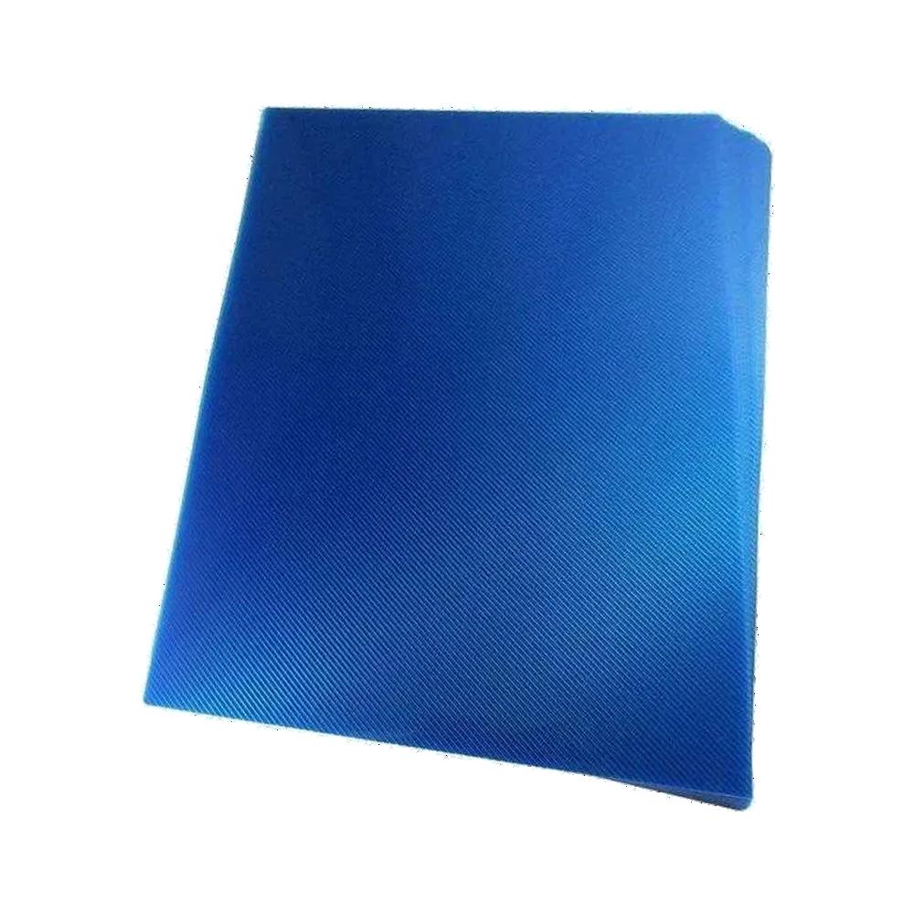 Foto 1 - Capa Para Encadernação Azul Transparente Line PP 0,30 100un