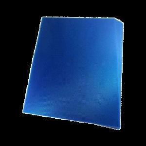 Foto1 - Capa Para Encadernação Azul Transparente Line PP 0,30 100un