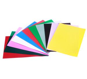 Foto2 - Capa Para Encadernação Rosa Transparente Line A4 PP 0,30 100un