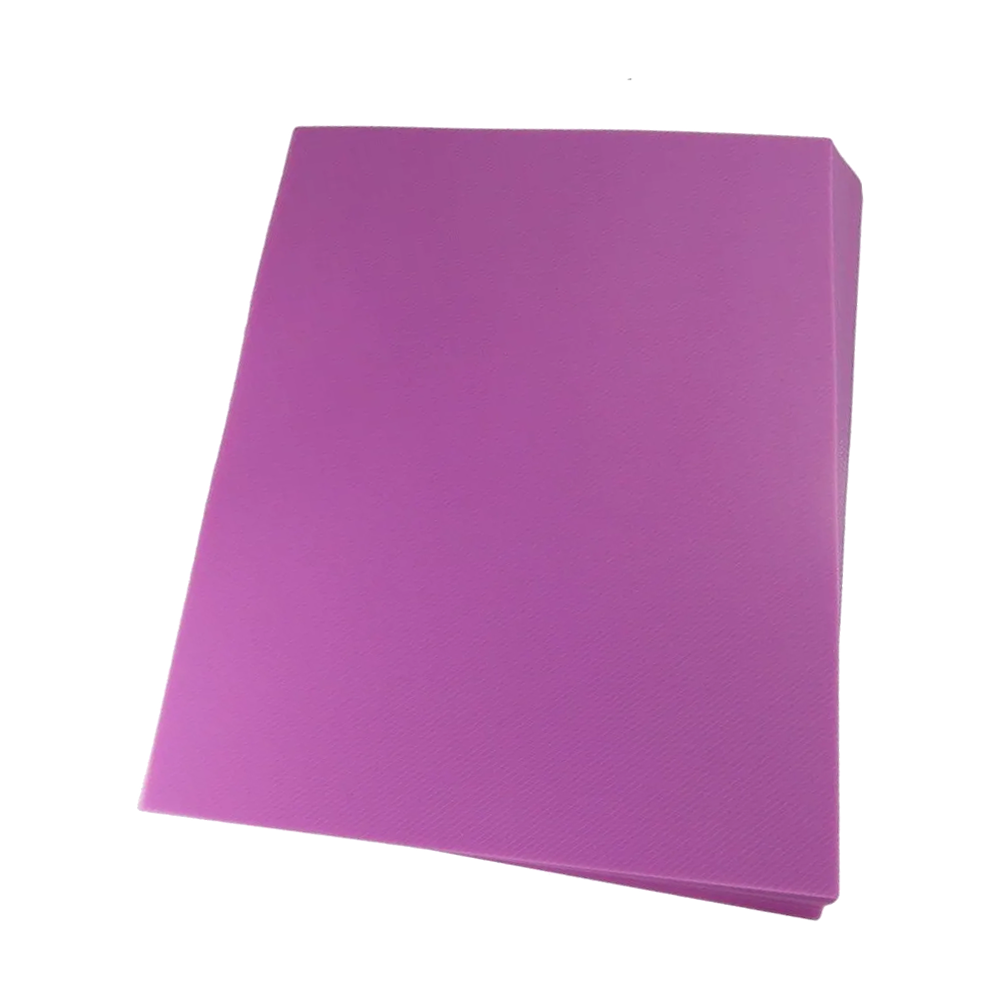 Foto 1 - Capa Para Encadernação Rosa Transparente Line A4 PP 0,30 100un