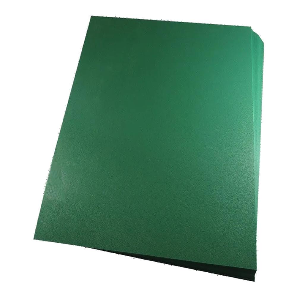 Foto 1 - Capa Para Encadernação Verde Bandeira A4 PP 0,30 100un