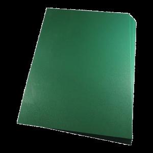 Foto1 - Capa Para Encadernação Verde Bandeira A4 PP 0,30 100un