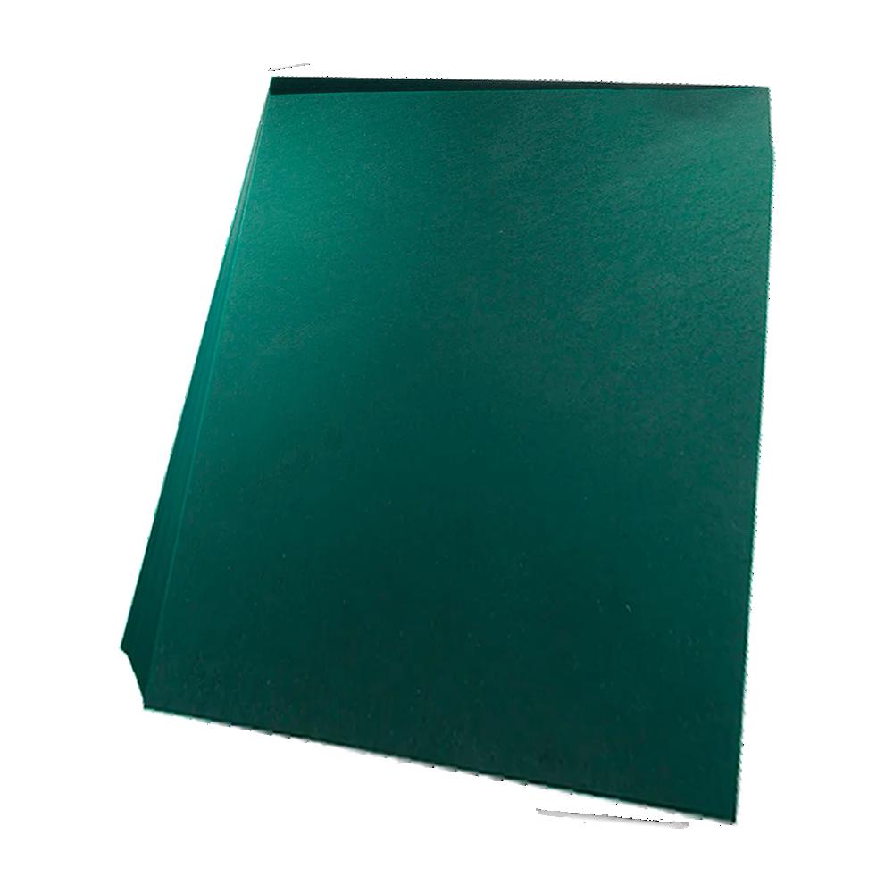 Foto 1 - Capa Para Encadernação Verde Petróleo A4 PP 0,30 100un