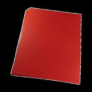 Foto1 - Capa Para Encadernação Vermelha A4 PP 0,30 100un