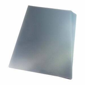 Foto2 - Kit: Jogo de Capa Para Encadernação Transparente Line e Preta A4 PP 0,30 100 unidades cada pacote = 200un