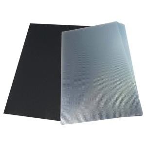 Kit: Jogo de Capa Para Encadernação Transparente Line e Preta A4 PP 0,30 100 unidades cada pacote = 200un