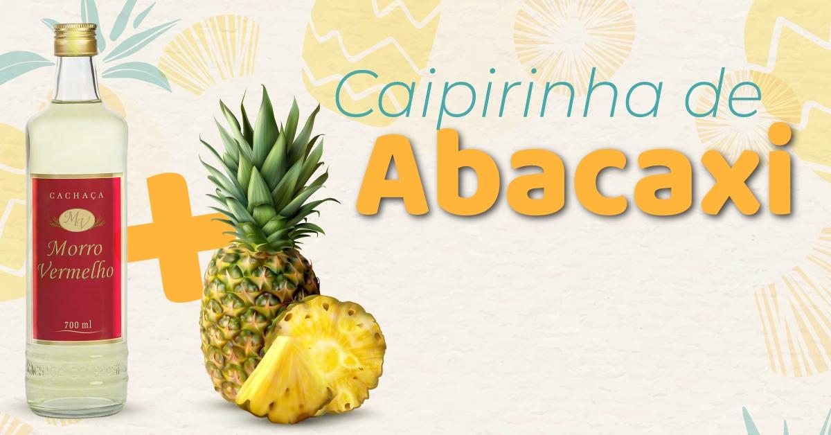 Caipifruta de Abacaxi