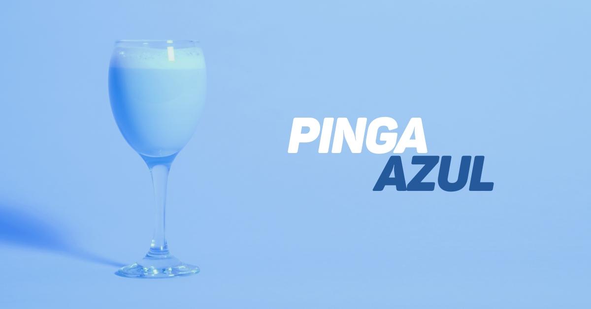 Receita de Pinga Azul