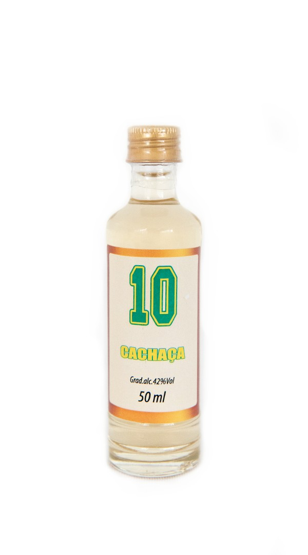 Foto 1 - MV - 03 Cachaça Art of Brazil 10 - 50ml Ouro