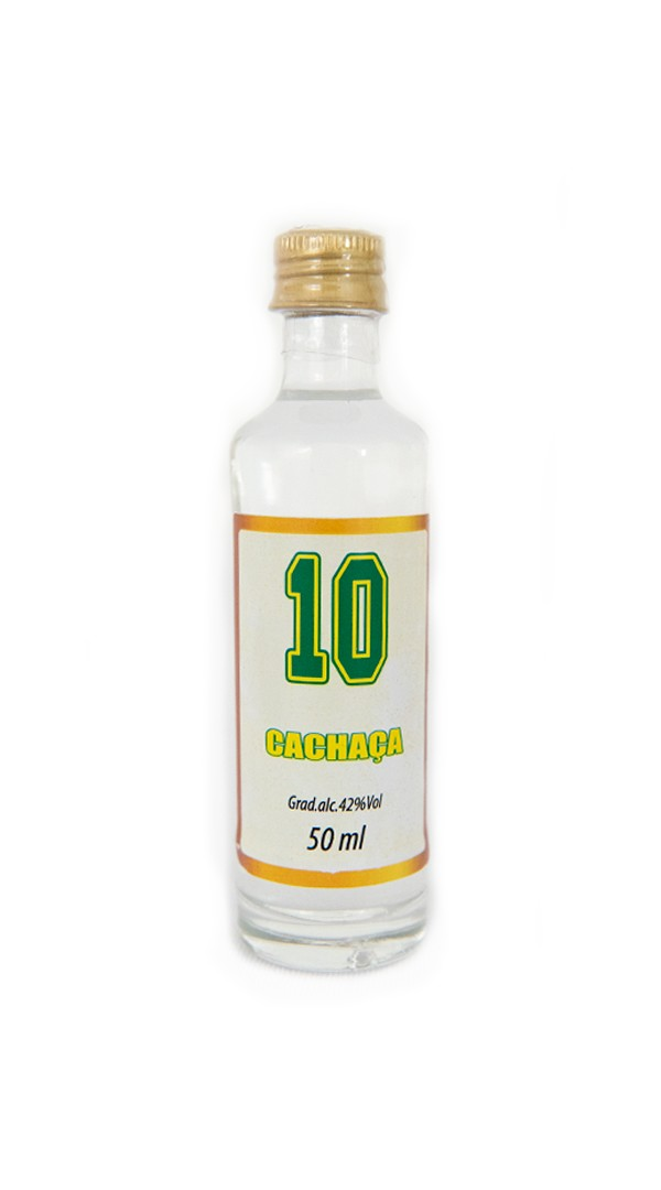 Foto 1 - MV - 04 Cachaça Art of Brazil 10 - 50ml Prata