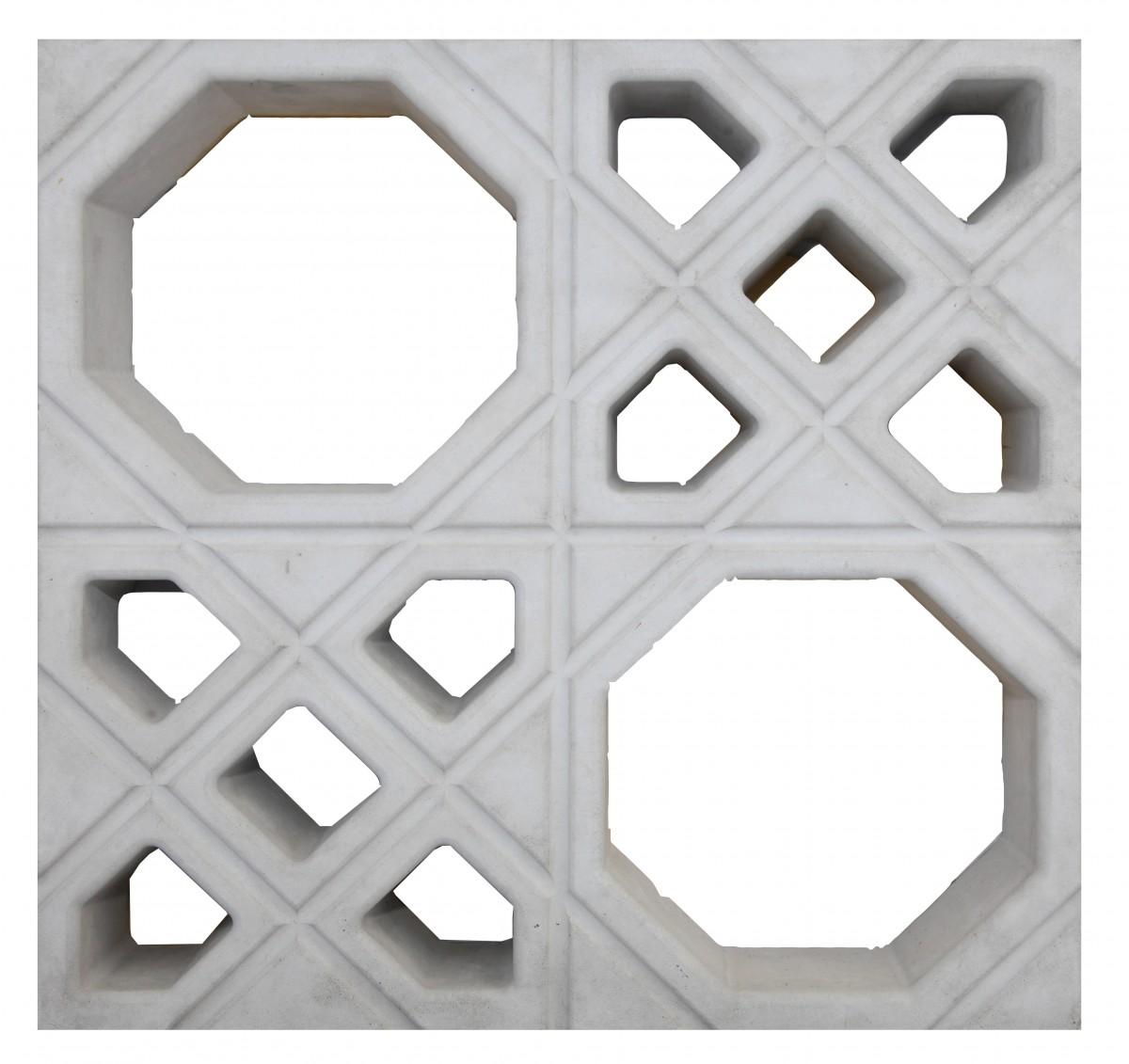 Foto4 - Elemento Vazado Estilo Árabe FP136 39X39 7PÇAS M²