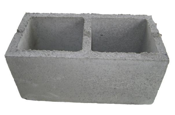 Foto2 - Forma manual para bloco de concreto 19x19x39 - 2 furos vazado