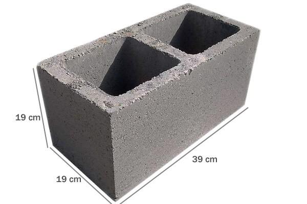 Foto4 - Forma manual para bloco de concreto 19x19x39 - 2 furos vazado