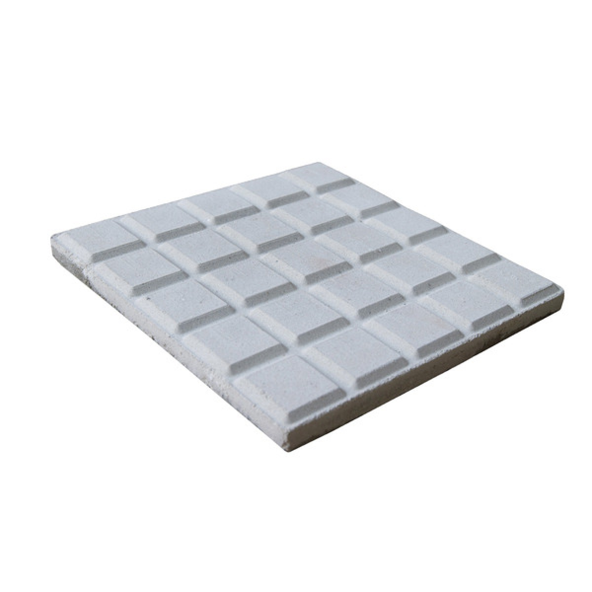 Foto4 - Forma Plástica Para Ladrilho Xadrez 25 Quadros FP044 20X20X1,5 Rendimento 25PÇAS P/M²