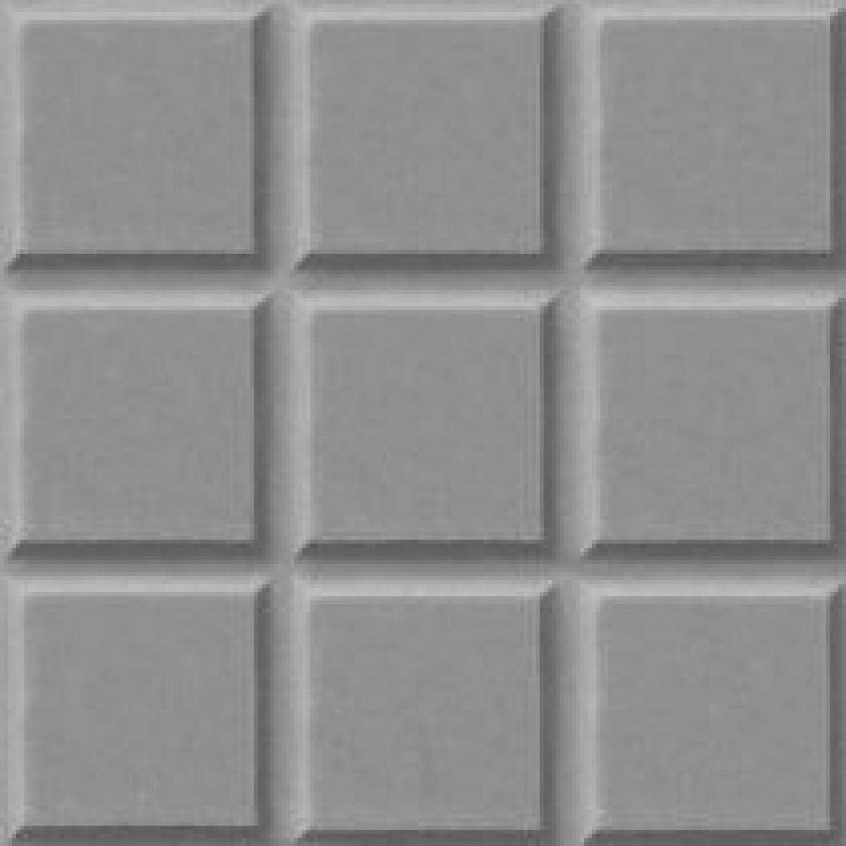 Foto2 - Ladrilho Xadrez 9 Quadros FP051 20X20X1,5 25PÇAS P/M²