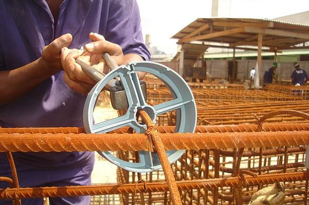 Foto4 - Distanciador Espaçador Plástico MRB 18/40 - Fundação