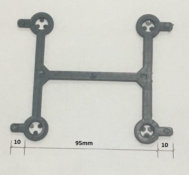 Foto 1 - Estribo Plástico para Postes e Mourões H