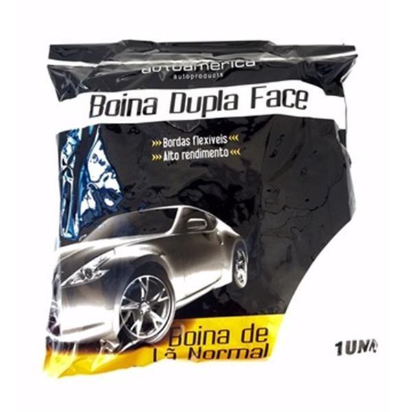 Foto2 - Boina Dupla Face Normal Autoamerica Branca (Caixa fechada com 2 unidades)