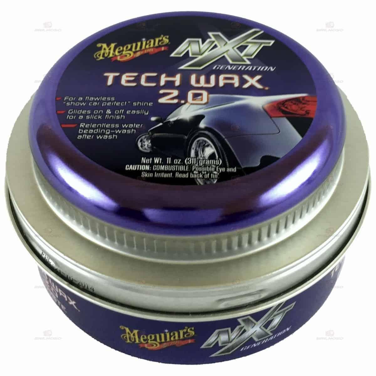 Foto 1 - Cera NXT Tech Wax Pasta Meguiars 311g