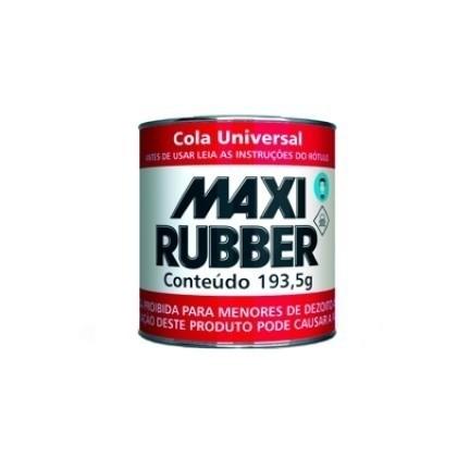 Foto 1 - Cola Universal Maxi Rubber - 200g