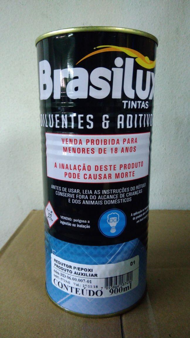 Foto 1 - Diluente Epoxi Brasilux 900ml
