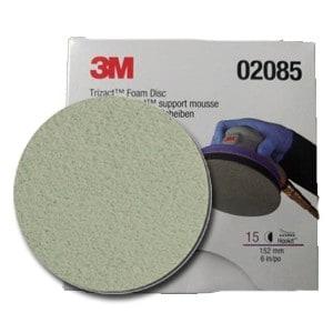 Foto2 - Disco Abrasivo Trizact 3000 3M (1 unidade)