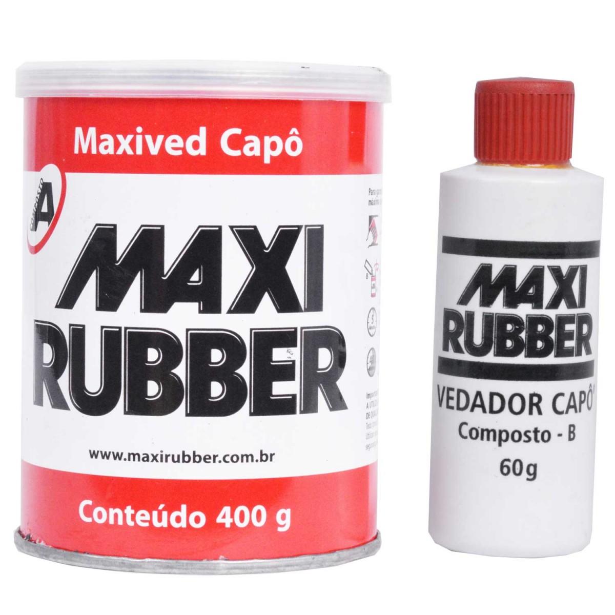 Foto 1 - KPO Maxi Rubber com catalisador 400g