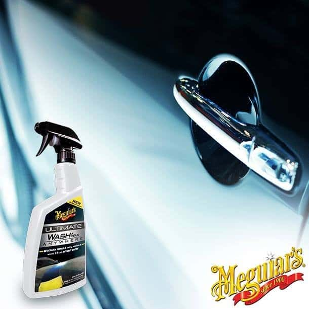 Foto2 - Lava a Seco e Encera Ultimate Wash Meguiars - 768ml