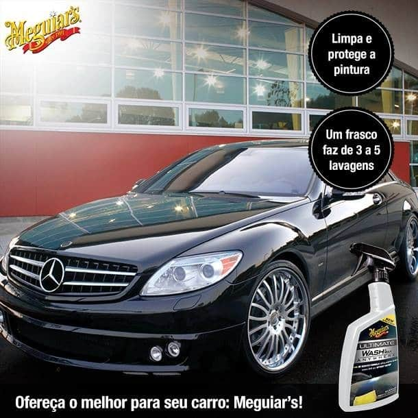 Foto3 - Lava a Seco e Encera Ultimate Wash Meguiars - 768ml