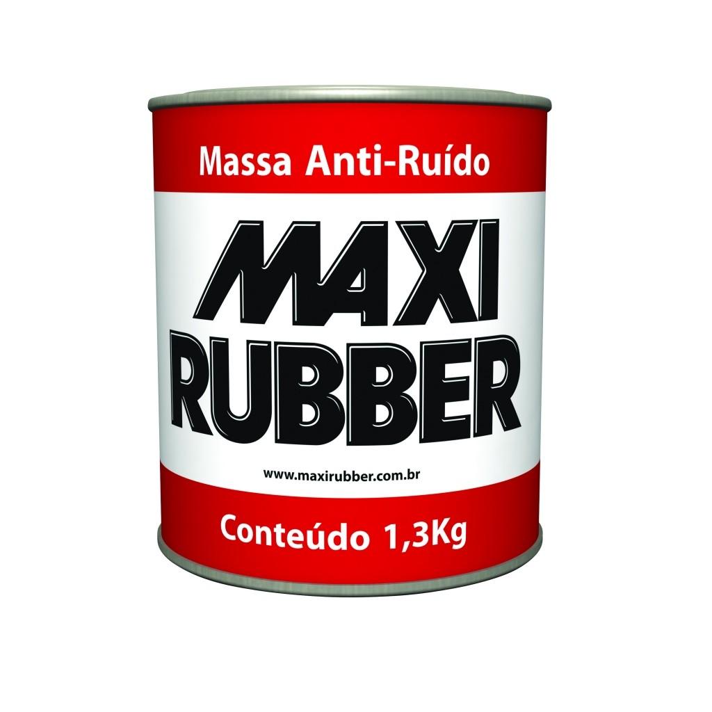 Foto 1 - Massa Anti-ruido Maxi Rubber 1,3kg