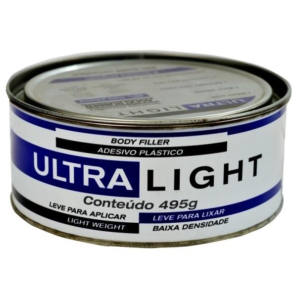Armario Ferramentas Marcon ~ Massa Plástica Ultralight Maxi Rubber 495g (Caixa Fechada com 24 unidades) Total Tinta