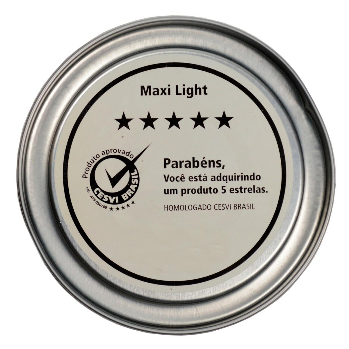 Foto2 - Massa Poliéster Maxi Light 1mg025 Maxi Rubber 900g (Caixa fechada com 12 unidades)