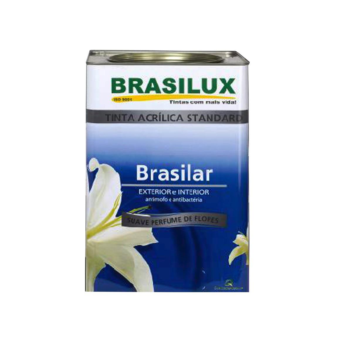 Foto 1 - Tinta Acrílica Brasilar 18L Brasilux