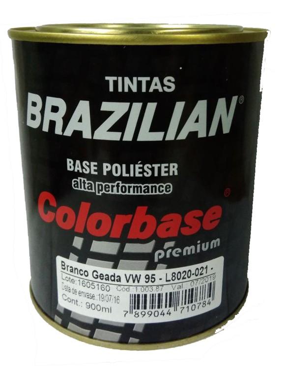 Foto 1 - Tinta Pronta Poliéster Branco Brazilian - 900ml (Vários Tons)