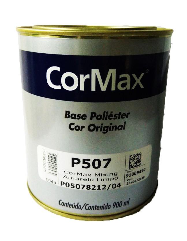 Foto 1 - Tinta Pronta Poliéster Prata CorMax - 900ml (Vários Tons)
