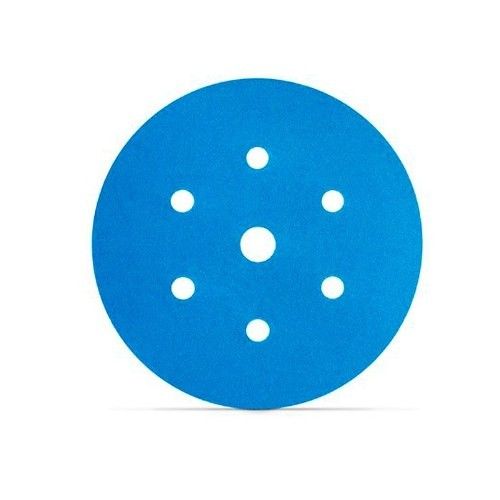 Foto 1 - Disco Hookit Blue 3M - Caixa fechada com 50 unidades (Várias Gramaturas)