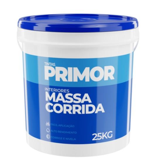 Foto 1 - Massa Corrida PVA Balde 29kg PRIMOR