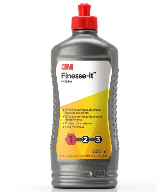 Foto 1 - Polidor Finesse-it 3M 500ml