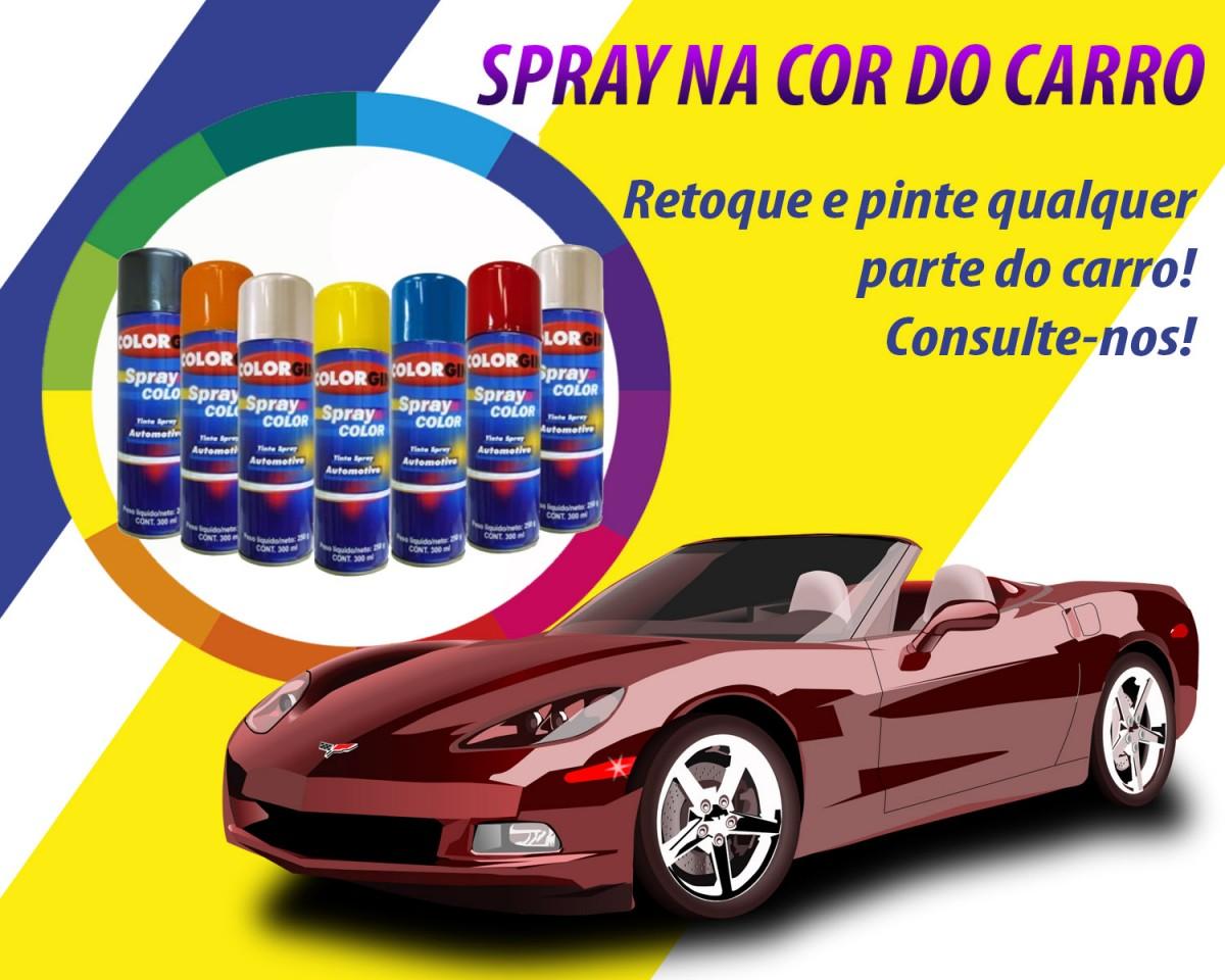 Foto 1 - Spray Na Cor do Carro