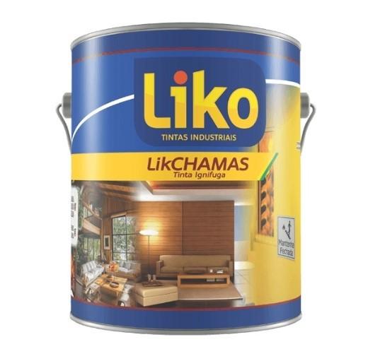 Foto 1 - Verniz PU Anti-chamas Likchama LIKO