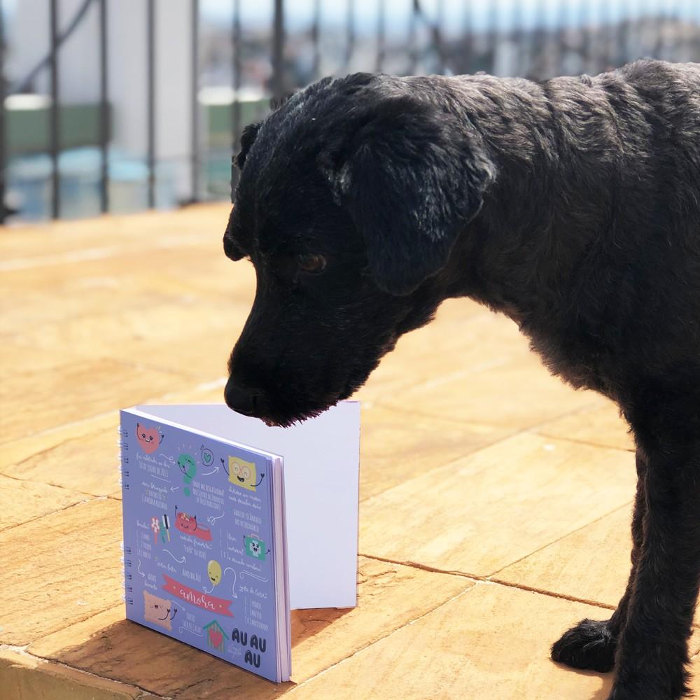 Foto3 - Álbum Scrapbook com Capa Personalizada - Pet