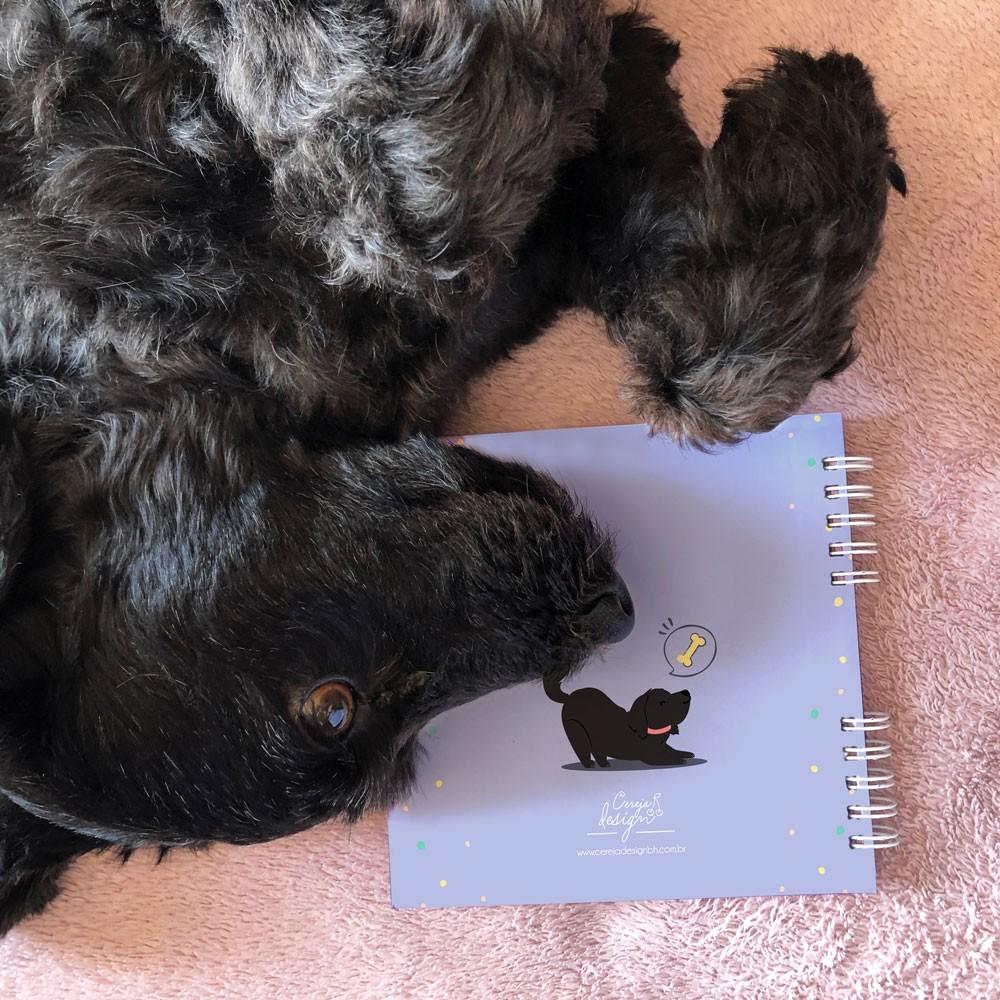 Foto5 - Álbum Scrapbook com Capa Personalizada - Pet